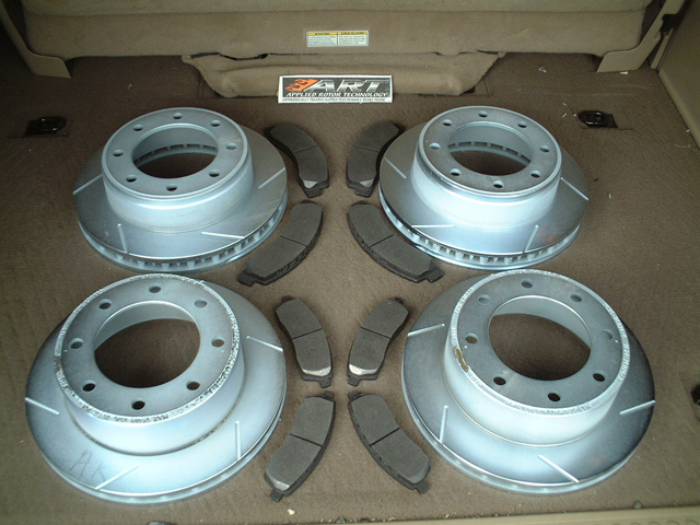 2000 Ford Excursion Brake Rotors