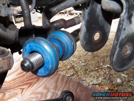 Pressing Out Control Arm Bushings