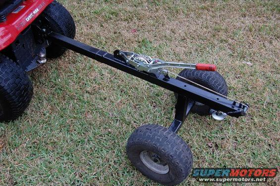Homemade Tractor Bumper : Home made projects or tools page ford bronco forum