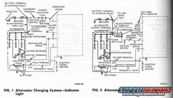 altwiringf100 ford alternator fit any ford motor?? the ford torino page forum ford 1g alternator wiring diagram at gsmportal.co