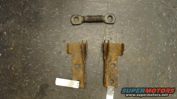 Favor 1978 1979 Rear Seat Brackets Ford Bronco Forum
