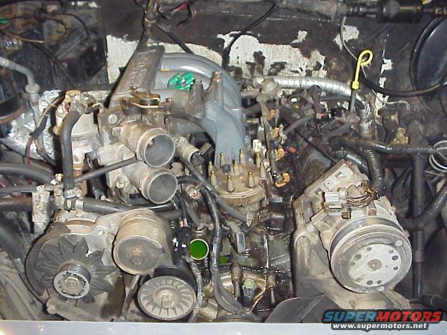 1993 302 accessory bracket removal - Ford Bronco Forum