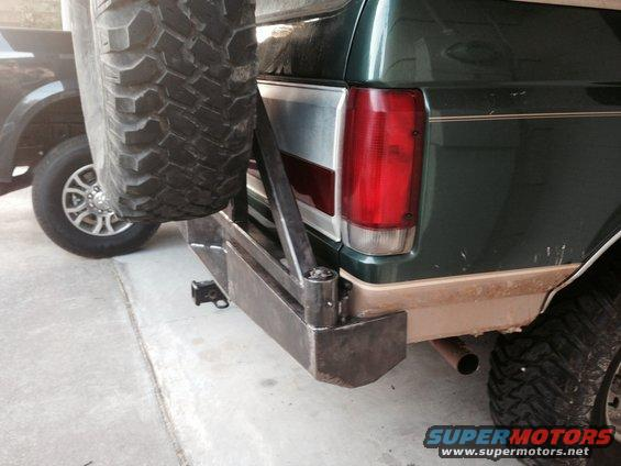 AUBronco's rear bumper build. - Ford Bronco Forum
