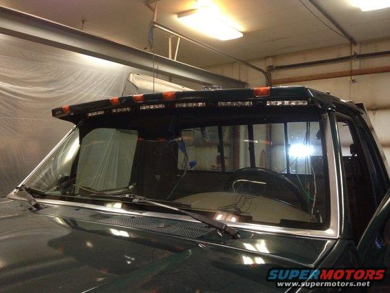 Led Light Bar Mounting Page 3 Ford Bronco Forum