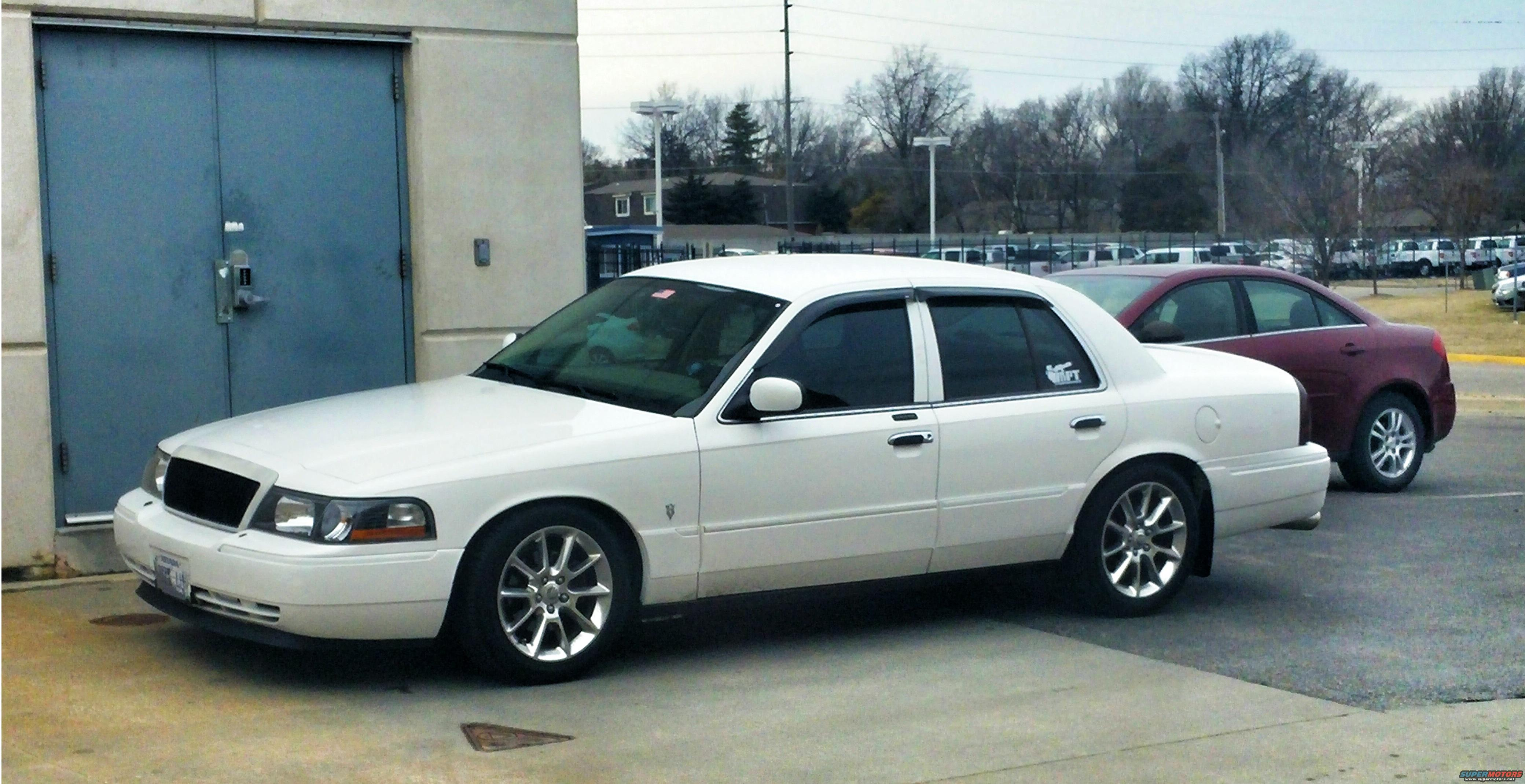 lowered my 05 for free steering suspension and brakes crownvic net crownvic net