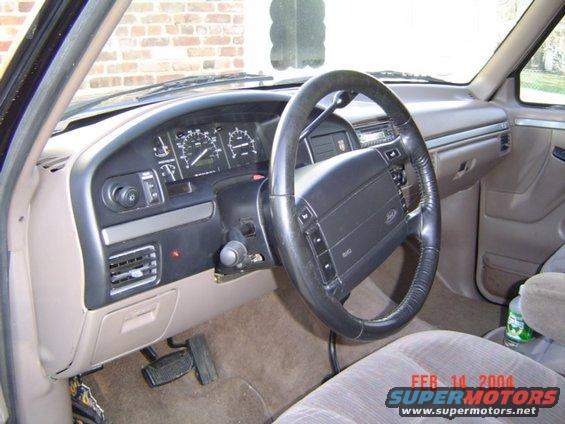 1996 Ford Bronco Seat Belts