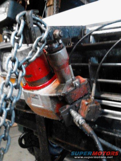 Western Snow Plow Cable Controls : Anyone know anything about rebuilding a plow pump ford
