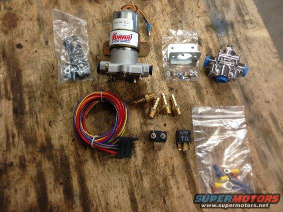 Best electric fuel pump reg bang for the buck ford bronco forum specifically the relay kit supplied seemed to be top notch thats somewhere they couldve easily cut corners but the relay socket and sciox Choice Image