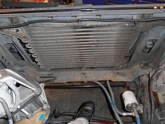 Question About Radiator Mounts Ford Bronco Forum