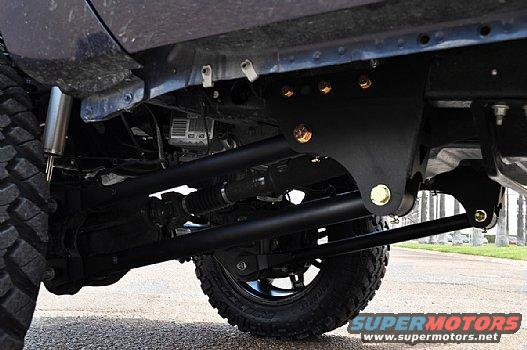 4 link or Radius Arm w/ Ballistic mounts? - Page 2 - Ford