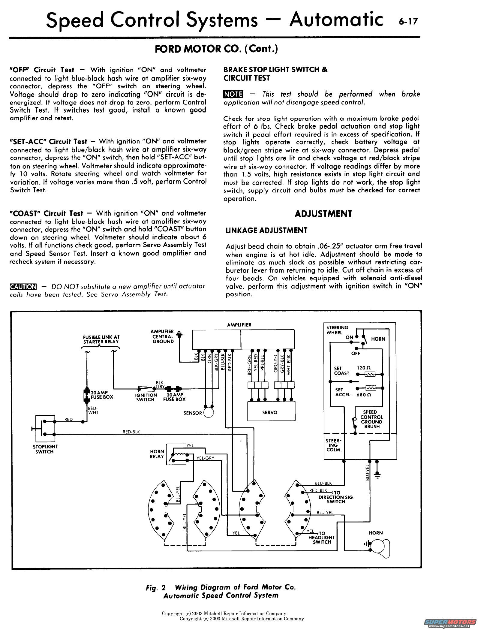 dana cruise control wiring diagram for a 1997 stratos b boat Cruise Control Fuse  1954 Ford Overdrive Kickdown Switch Wiring Diagram 1991 Dodge Truck Wiring Diagram Ford Cruise Control Wiring Diagram