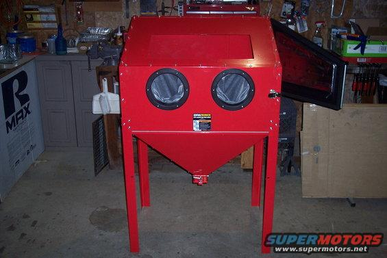 Harbor Freights 40lb  Sand Blasting Cabinet - Ford Bronco Forum