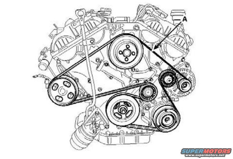 559033 Replace Idler Pulley on Flat 6 Engine Diagram