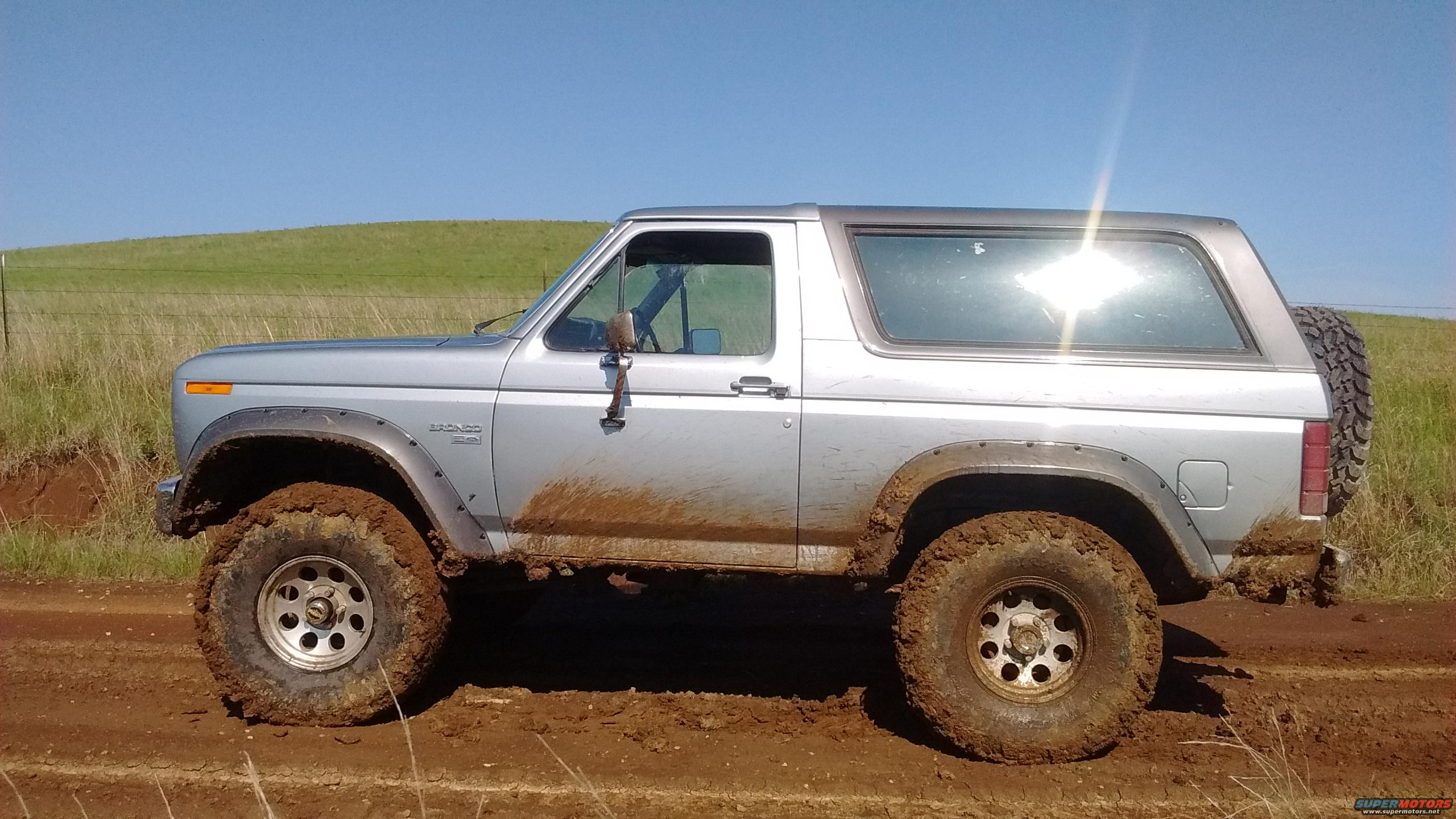 Top Paint Ford Bronco Forum Jobs The Same Was Used On Flares And It Is Holding Up Just As Well After Almost 15 Years