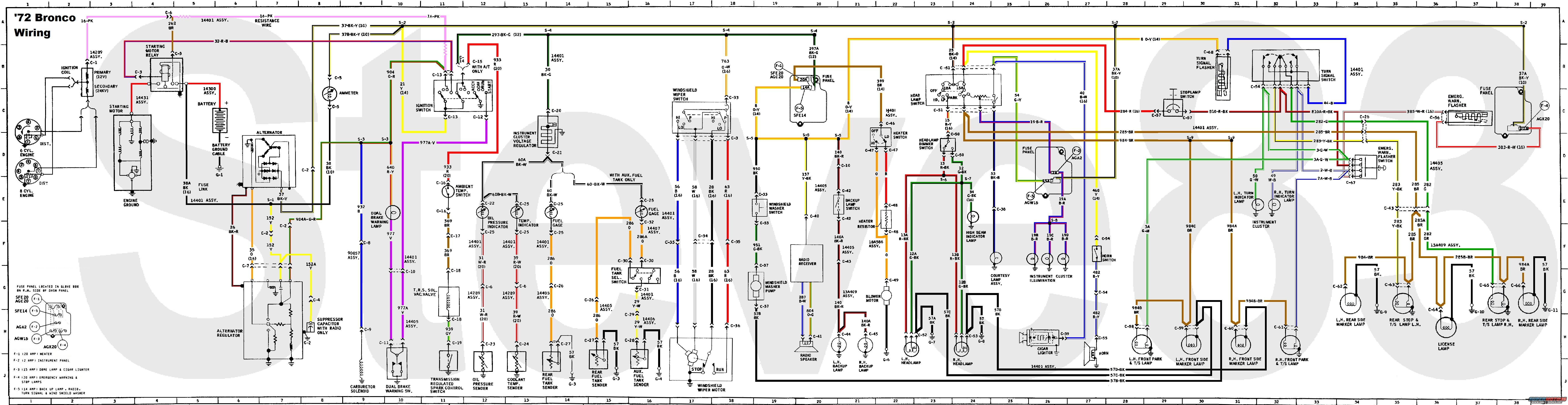 Scout 2 1975 Wiring Diagram Question About 1976 International Ford Bronco Tech Diagrams Picture Supermotors 800 Ih