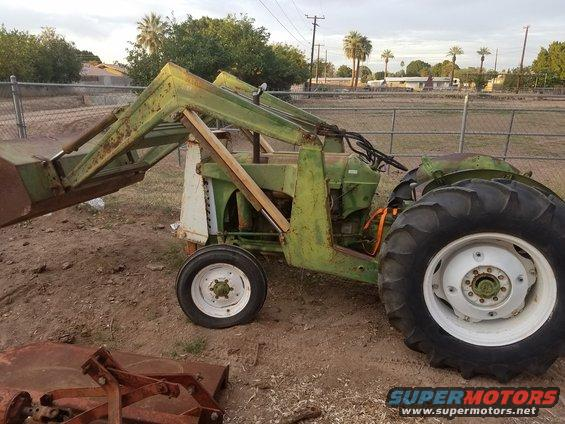 550 Oliver Tractor With Loader : New to me super with loader oliver cletrac