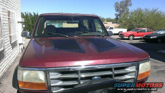 Hood Louver Installation Ford Bronco Forum