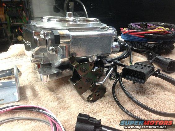Holley Sniper EFI Install - Ford Bronco Forum