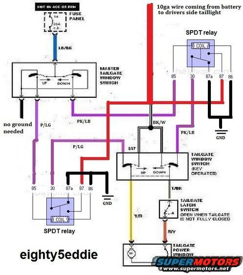 86 Bronco Wiring Diagram: Corroded Tailgate Switch Wires