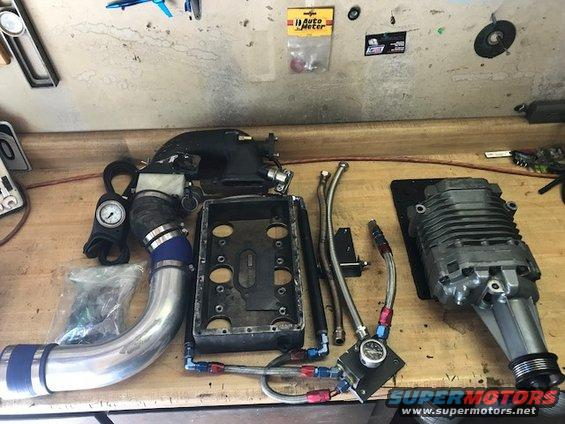 For Sale: Supercharger, Install Kit and Cooling for Ford 4 ...
