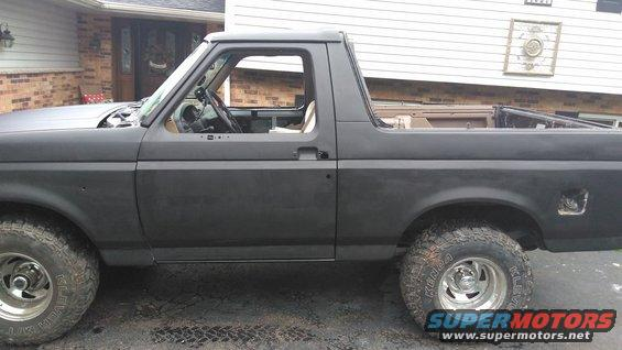 A Teenager S Dream My 1996 Bronco Ford Bronco Forum