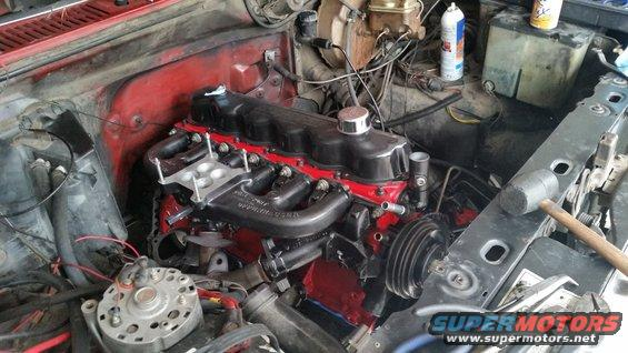 Converting a high performance 300 to fuel injection