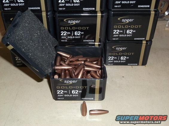 Speer Gold Dot 150 grain Blackout Specific Bullet Now Available