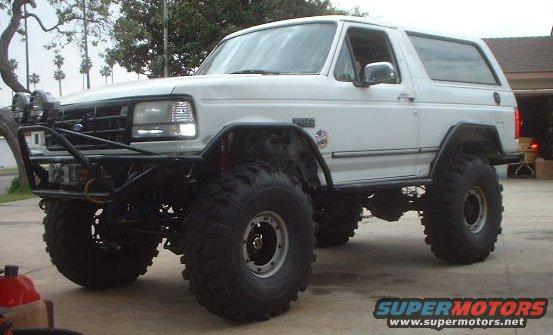 1995 Ford Bronco Spindle : Ford bronco pictures photos videos and sounds