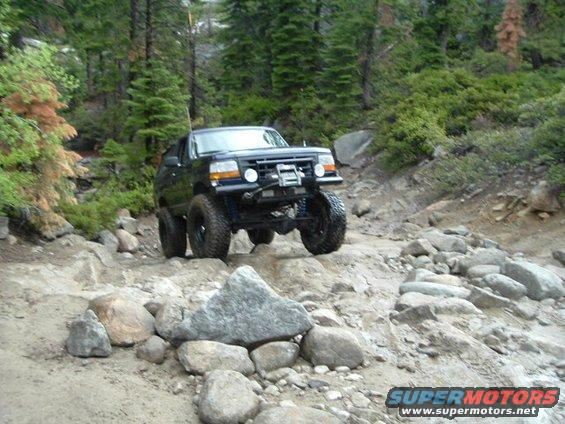 1989 ford bronco rubicon trail memorial day weekend 2004