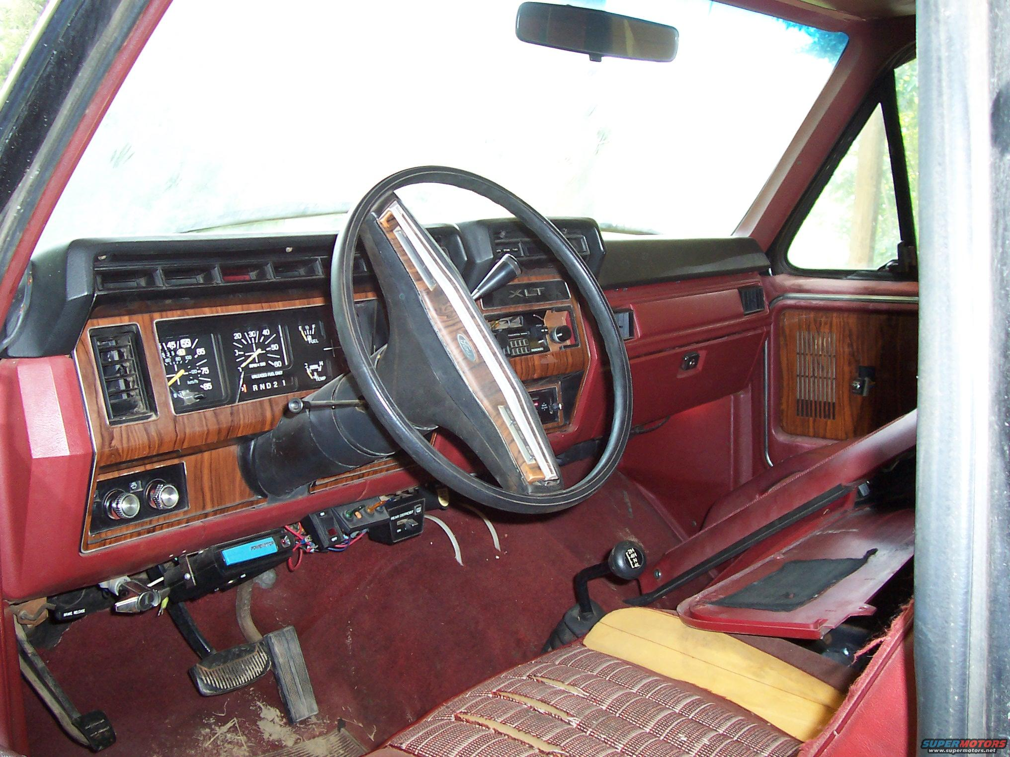 1984 ford bronco interior parts for Ford interior replacement parts