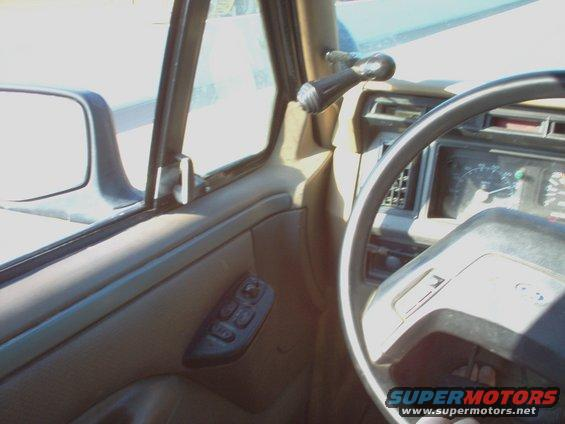 Here S The 92 96 Vent Windows With 1990 Style Dash