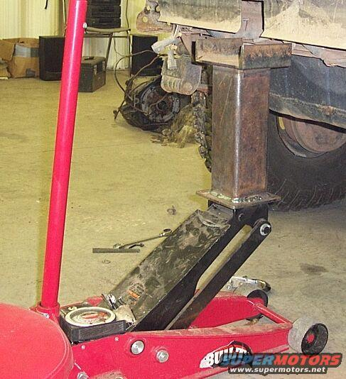 Floor Jack Extenders Pirate4x4 Com 4x4 And Off Road Forum