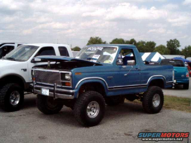 Best Lift And Tires For A 85 80 96 Ford Bronco 66 96
