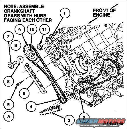 Ford 4.0 Timing Chain Diagram