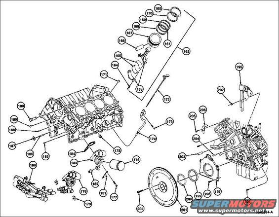 Engine exploded internal 97 alt= 1994 ford crown victoria diagrams pictures, videos, and sounds on ford 5 4 liter engine diagram