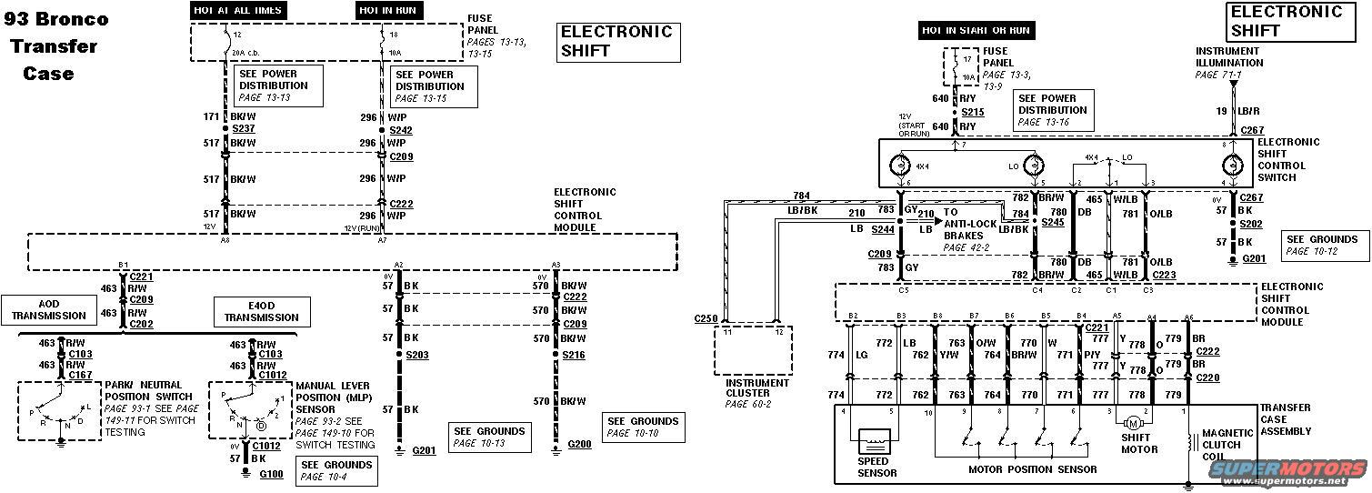 1990 Bronco Transfer Case Motor Wiring Diagram Schematics Dodge Ramcharger 4wd Switch Ford Forum Rh Fullsizebronco Com 79