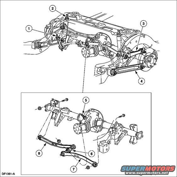 ford crown victoria front suspension parts diagram  ford