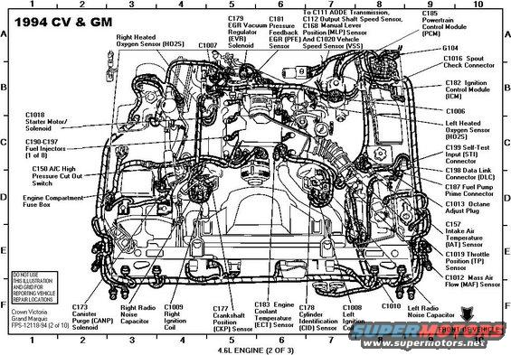 enginecomponents94evtm alt= 1994 ford crown victoria diagrams pictures, videos, and sounds ford crown victoria engine wiring harness at edmiracle.co