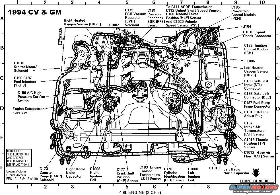 1998 ford crown victoria engine diagram 1994 ford crown victoria diagrams picture | supermotors.net #3