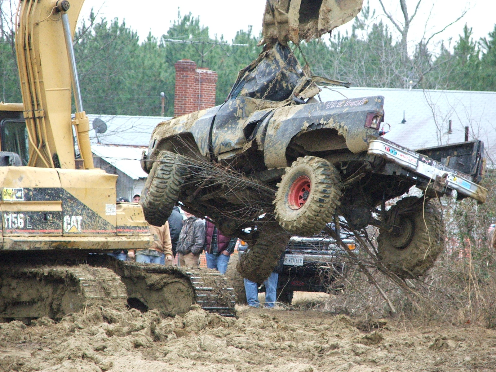 Wrecked MUD Trucks