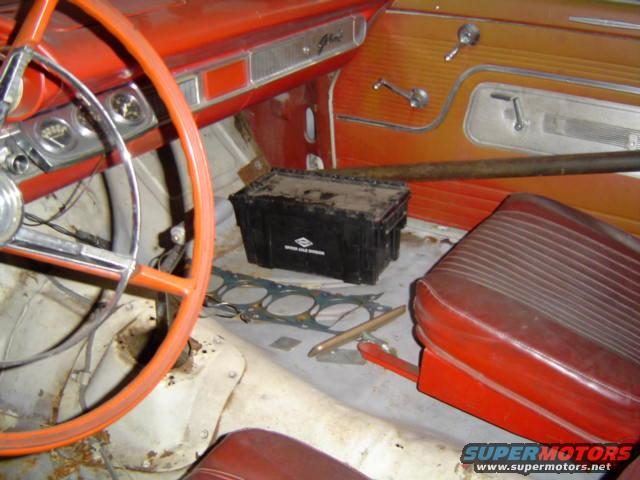 1964 Galaxie Floor Shifter Questions 332 428 Ford Fe