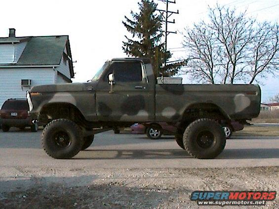 1977 Ford F-150 Camo Truck picture | SuperMotors.net