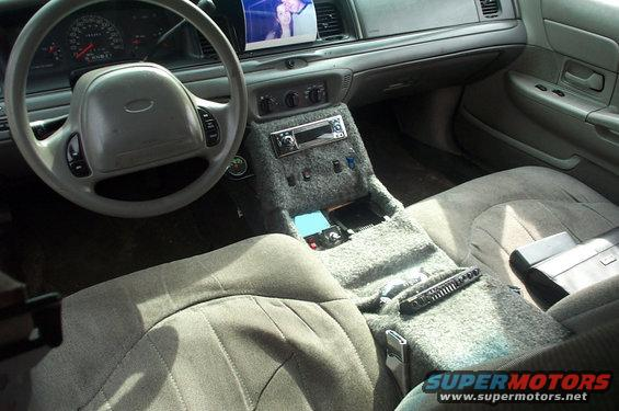 1999 Ford Crown Victoria Interior Picture