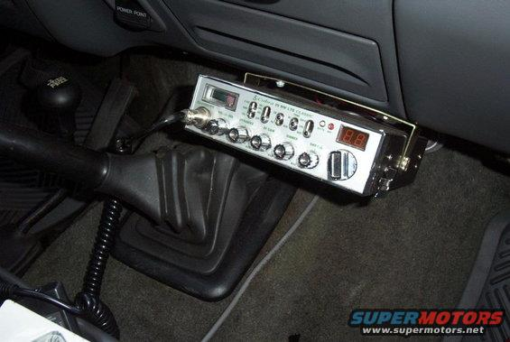 Where Should I Mount My Cb Radio F150online Forums