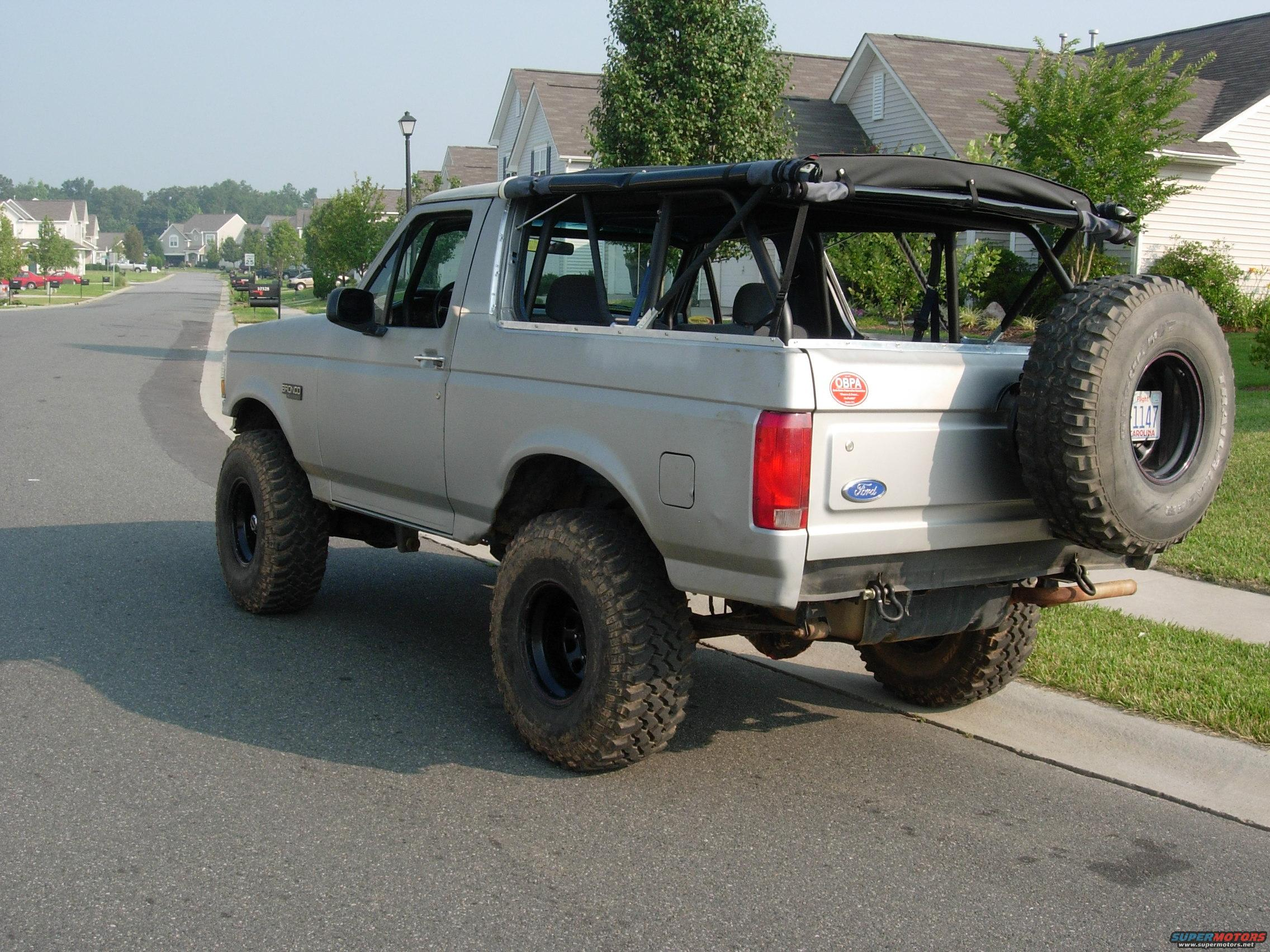 1995 Ford bronco soft tops