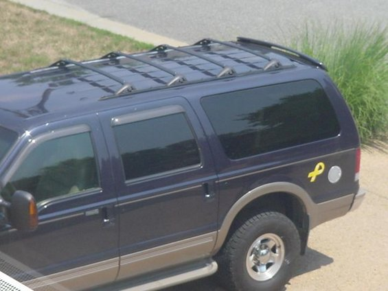 Lovely 2roof Rack Crossbars 080505 Four Modified Explorer Crossbars Are Up Off