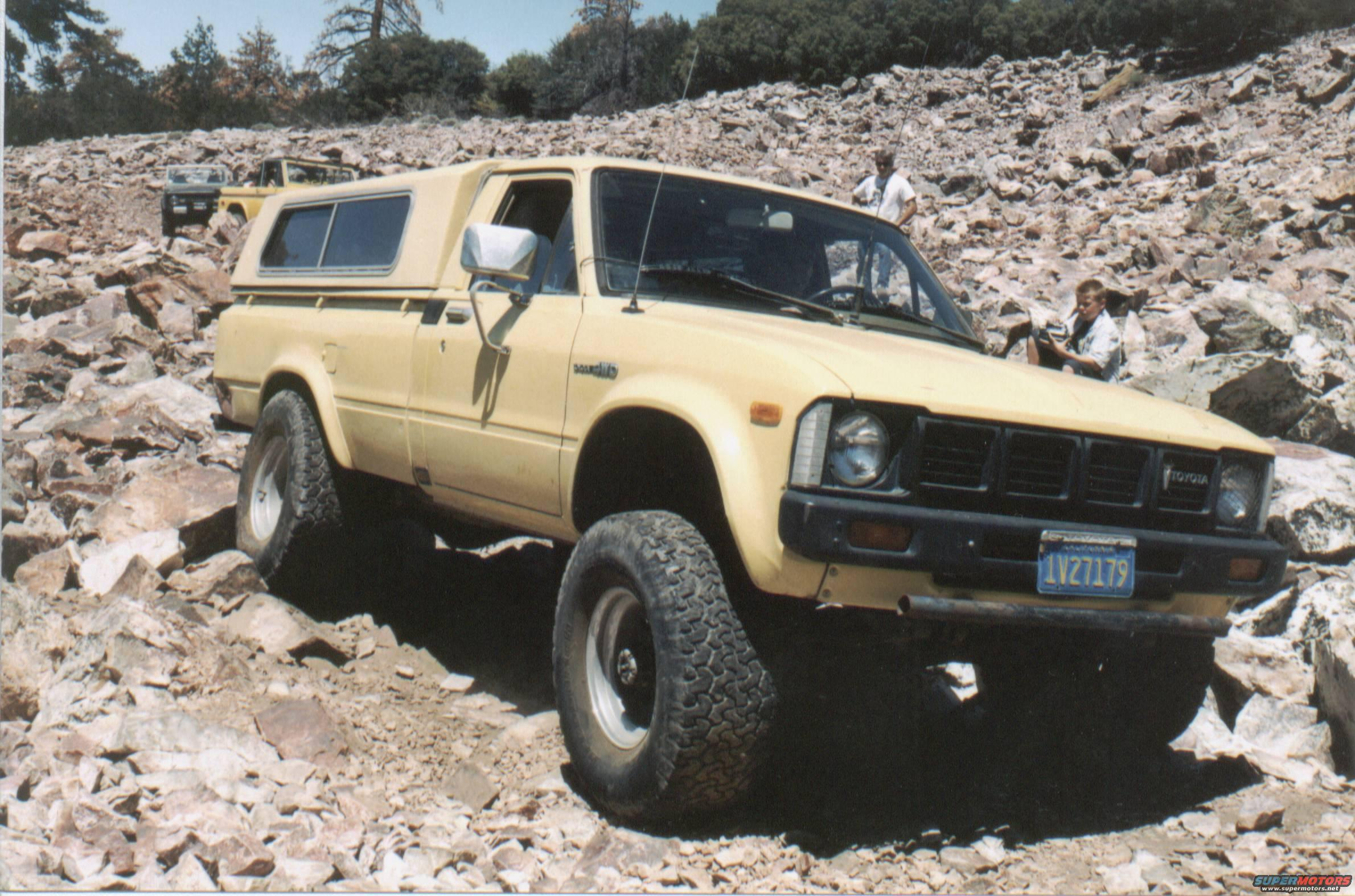 1980 Toyota Hilux Misc Pictures Picture Supermotors Net