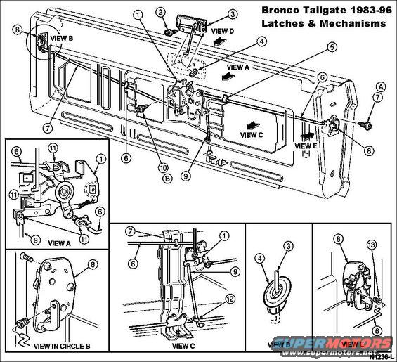 2004 Toyota Sequoia Tail Gate Parts Diagram Information Of Wiring