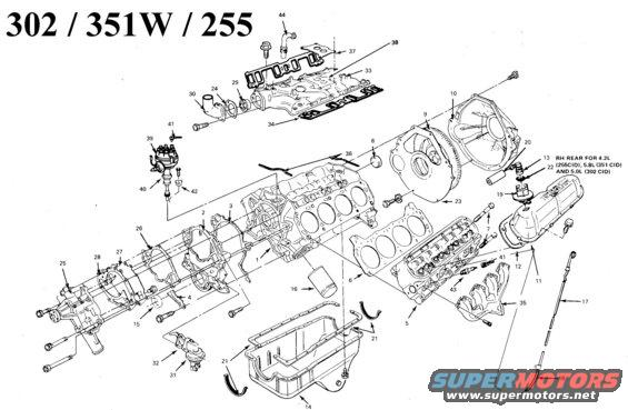 89 351 windsor engine diagram  89  get free image about