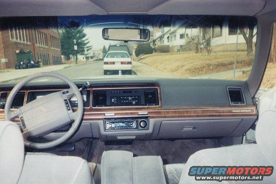 1991 Mercury Grand Marquis 91 Mercury GM picture  SuperMotorsnet